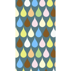 Gavepapir Drops, 100 cm x 100 m