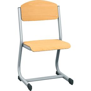 Class stol sølv, size 4
