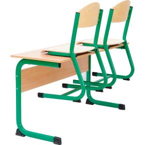 Class stol rød, size 4