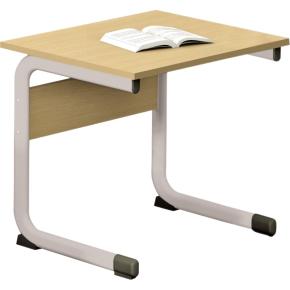 Class enkelt bord sølv, size 3
