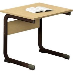 Class enkelt bord sort, size 4