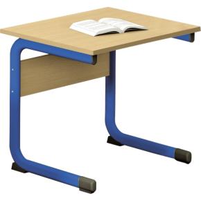 Class enkelt bord blå, size 5