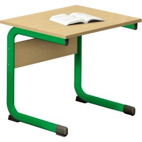 Class enkelt bord grøn, size 6