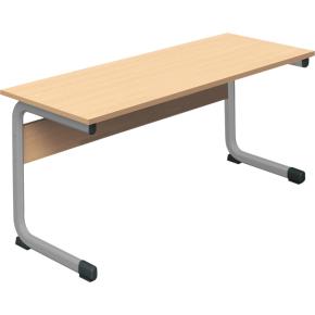 Class dobbelt bord sølv, size 4