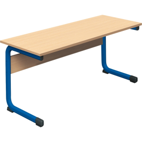 Class dobbelt bord blå, size 5