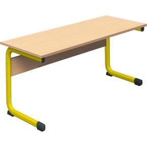 Class dobbelt bord gul, size 6