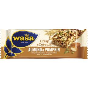 Wasa Crips & Cereals mandel og græskarkerner, 35 g