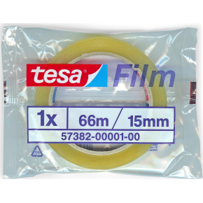 tesa tape 15 mm x 66 m, klar