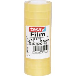 tesa Standard kontortape 15mm x 33m - 10 ruller
