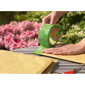 tesa ecoLogo Pakketape, 50 mm, PP, grøn