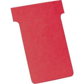 Legamaster T-card til inddelingstavle, rød