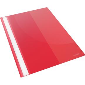 Esselte Vivida Tilbudsmappe A4, med lomme, rød