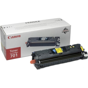 Canon nr.701LY/9288A003 lasertoner, gul, 2000s