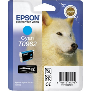 Epson nr.T0963/C13T09624010 blækpatron, blå, 450s