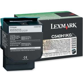 Lexmark C540H1KG lasertoner, sort, 2500s