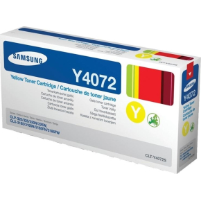 Samsung CLT-Y4072S lasertoner, gul, 1000s