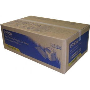 Epson C13S051124 lasertoner, gul, 9000s