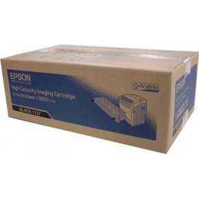 Epson C13S051127 lasertoner, sort, 9000s