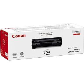 Canon CRG-725/3484B002AA lasertoner, sort, 1600s