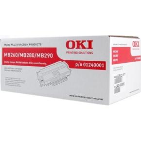 OKI 01240001 lasertoner, sort, 5500s