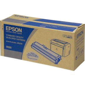 Epson C13S050520 lasertoner, sort, 1800s