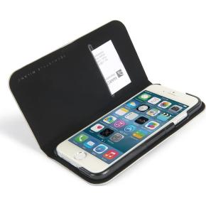 Tucano Filo iPhone 6/6S cover magnetisk, sølv