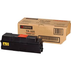 Kyocera TK320 lasertoner, sort, 15000 s
