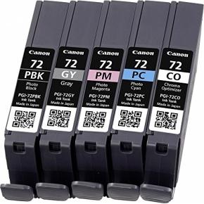 Canon PGI-72 Blækpatron multipakke PBK/GY/PM/PC/CO