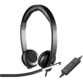 Logitech H650e Stereo USB headset
