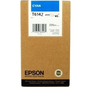 Epson C13T614200 blækpatron, blå, 220ml