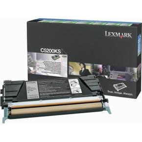 Lexmark C5200KS lasertoner, sort, 1500s