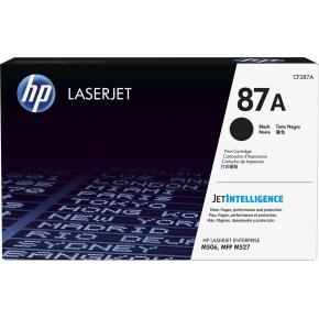 HP nr. 87A lasertoner, sort, 9000s.