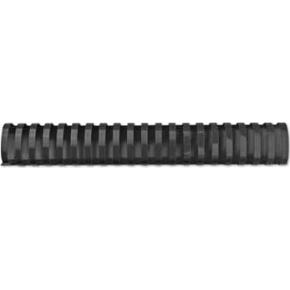 GBC plast spiralryg A4, 21 ringe, 51mm oval, sort