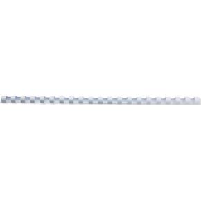 GBC Plast Spiralryg A4, 21 ringe, 12mm, hvid
