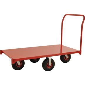 Transportvogn 830, 155x76x105 cm, 1200 kg, Rød