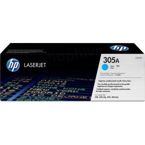 HP nr. 305A/CE411A lasertoner, blå, 2600s
