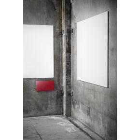 Lintex Air Whiteboard, 99 x 119 cm