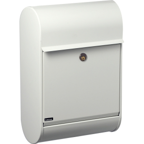 Allux 8900 Postkasse, hvid