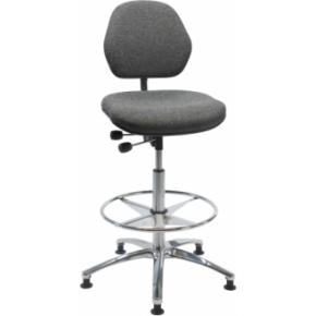 Antistatisk arbejdsstol, høj model