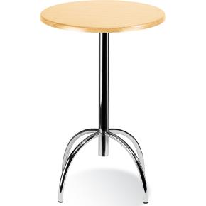Riviera cafébord H73,5 x Ø 80 cm, 4 ben, bøg