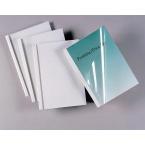 GBC Limbindsomslag, 50 mm, hvid