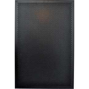 Vanerum Contact Opal opslagstavle 60x45 cm, sort
