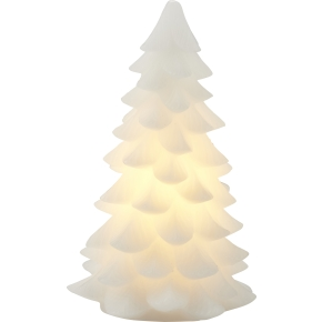 Carla LED grantræslys, Hvid, Ø 11 x H 18 cm