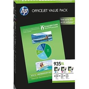 HP 935XL/F6U78AE CMY Ink Cartridge OVP Value Pack