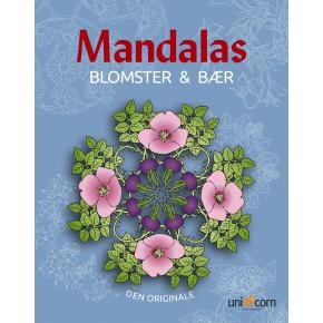 Mandalas malebog Blomster & Bær