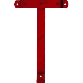 RMIG vægbeslag t/type 526U og 544U, rød