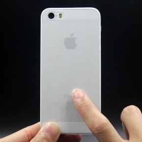 Twincase iPhone SE/5S/5 case, transparent hvid