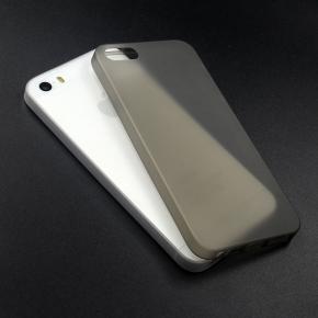 Twincase iPhone SE/5S/5 case, transparent sort