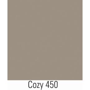 Lintex Mood Flow, 75 x 75 cm, gråbrun cozy