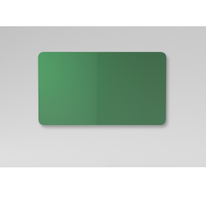 Lintex Mood Fabric Wall Glas, 175 x 100 cm, grøn